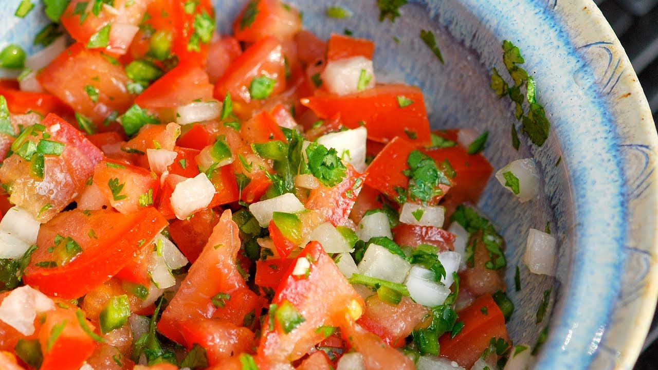 Easy homemade salsa recipe with canned tomatoes