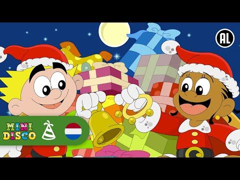 Nederlandse Kerstliedjes voor kinderen   NON-STOP   Vrolijk Kerstfeest   Kerst Tekenfilms Minidisco