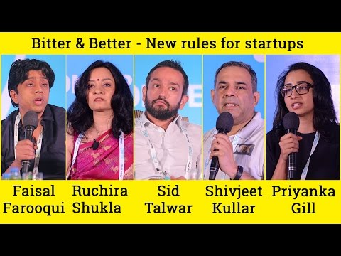 Bitter & Better - New rules for startups