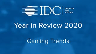 Year in Review 2020 - Gaming Trends