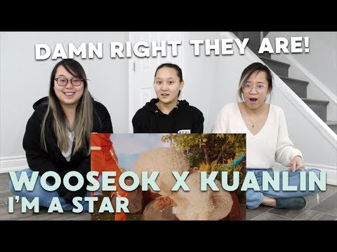 "MV REACTION   WOOSEOKXKUANLIN (우석X관린) ""별짓 (I'M A STAR)"""