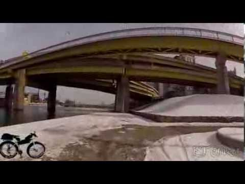 Pittsburgh Winter Trails, North Shore to the Point & Convention Center, 2-12-14