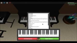 Practicando 7 Años De Edad En Piano! Roblox (Hoja de Descripción)