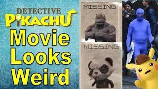 Detective Pikachu Movie Set and Prop Photos Look Interesting...   @GatorEXP