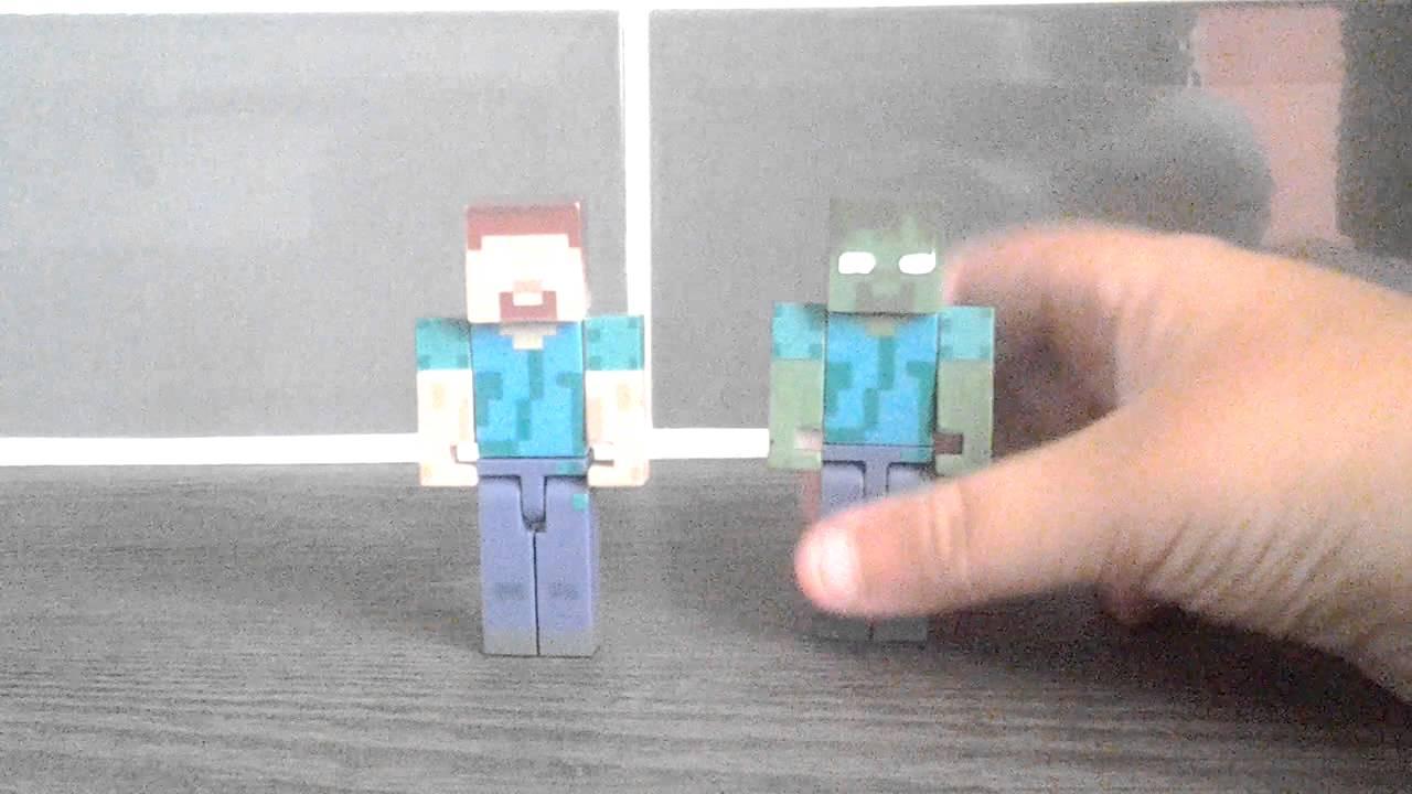 Toy R Us Toy Herobrine : Herobrine action figure youtube