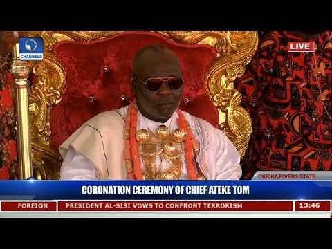 Coronation Ceremony Of HRM Ateke Tom Pt.3  Live Coverage 
