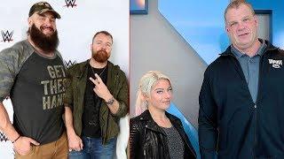 10 Strangest WWE Friendships in Real Life 2019 - Braun Strowman & Dean Ambrose, Alexa Bliss & Kane