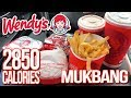 Wendy's | MUKBANG 먹방 • EATING SHOW • My Favourite Food Items