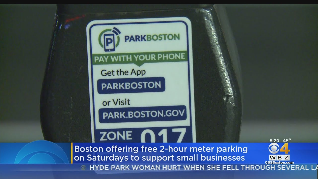 Boston Offering Free 2-Hour Parking On Saturdays During Holiday Season