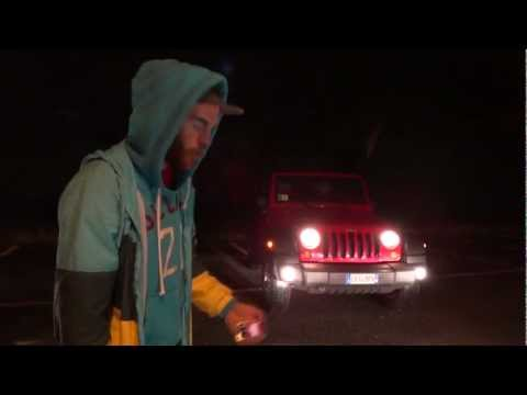 Xperia Active crash test vs. Jeep Wrangler. AMAZING! The Extreme Phone