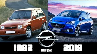 Opel Corsa - The Evolution (1982-2018)