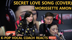 [ENGsub]K-pop Vocal Coach reacts to Morissette Amon - Secret Love Song
