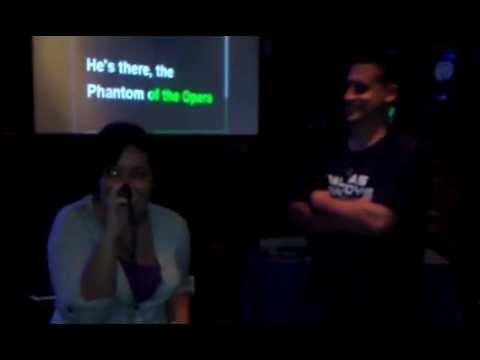 """Phantom of the Opera"" at the Irish Rogue karaoke"