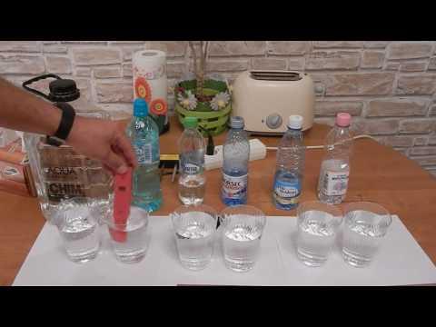 Test comparativ intre 6 tipuri de apa plata-Electroliza