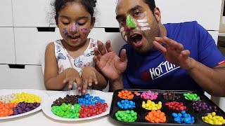Learn colors with Ishfi and Daddy