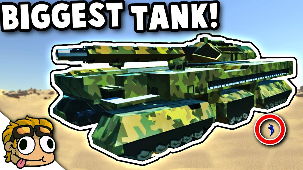 BIGGEST TANK MOD EVER! | Ravenfield Best Mods Gameplay