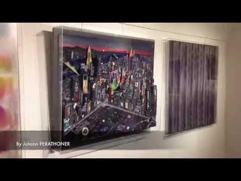 "New York 3D Artwork ""luxury edition"" masterpiece by Johann Perathoner"