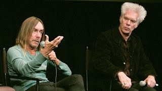 Jim Jarmusch & Iggy Pop  