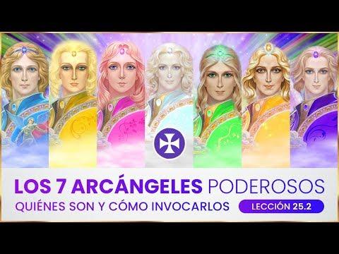 Los 7 arc�ngeles poderosos - Qui�nes son y c�mo invocarlos - Lecci�n 25.2