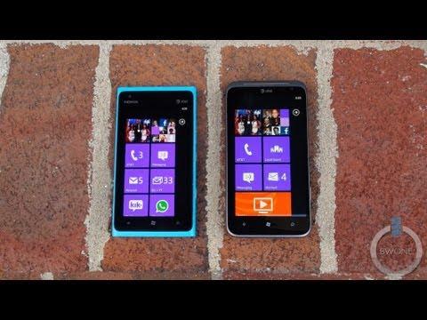 Nokia Lumia 900 vs HTC Titan II - BWOne.com