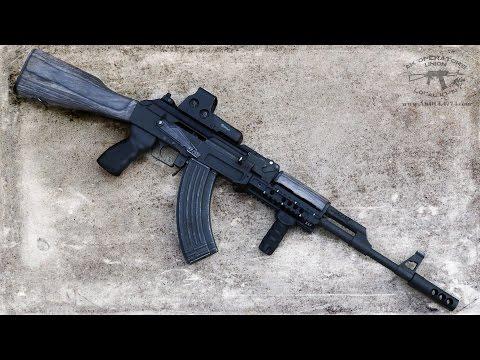 AK 47 (AKM) / AK 74 - railed dust cover from TWS (Dog Leg) Review