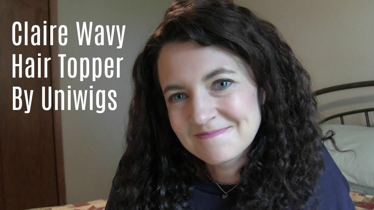 Claire Wavy Hair Topper By Uniwigs Review Youtube