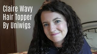 Claire Wavy Hair Topper by Uniwigs | Review