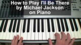 I'll Be There / Jackson 5 / Michael Jackson / Mariah Carey Piano Tutorial