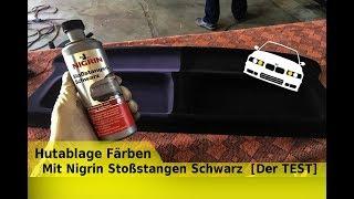 Hutablage Färben Mit NIGRIN  Stoßstangen Schwarz [Der TEST]