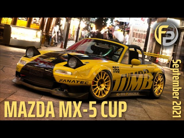 Mazda Roadster cup final Race