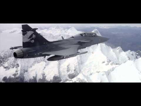 Saab Gripen Axalp 2012