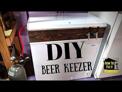 how to build a keezer