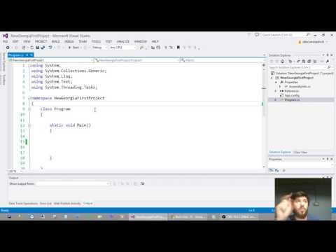 ალექსი ამნიაშვილი- C# Classes And Constructor I (X ლექცია)