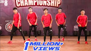 TEAM SUJIT | HIP HOP INTERNATIONAL INDIA 2019 | DANCE ROUTINE