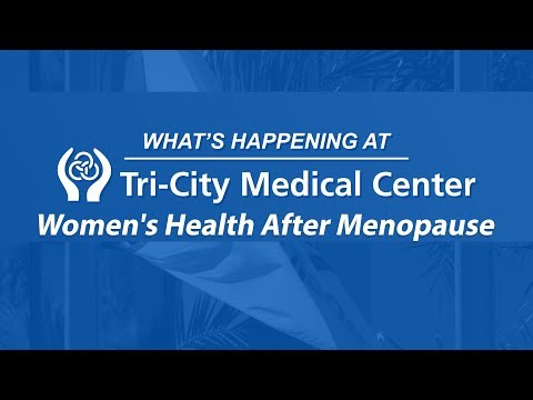 Women's Health After Menopause – Full Episode – What's Happening at Tri-City Medical Center