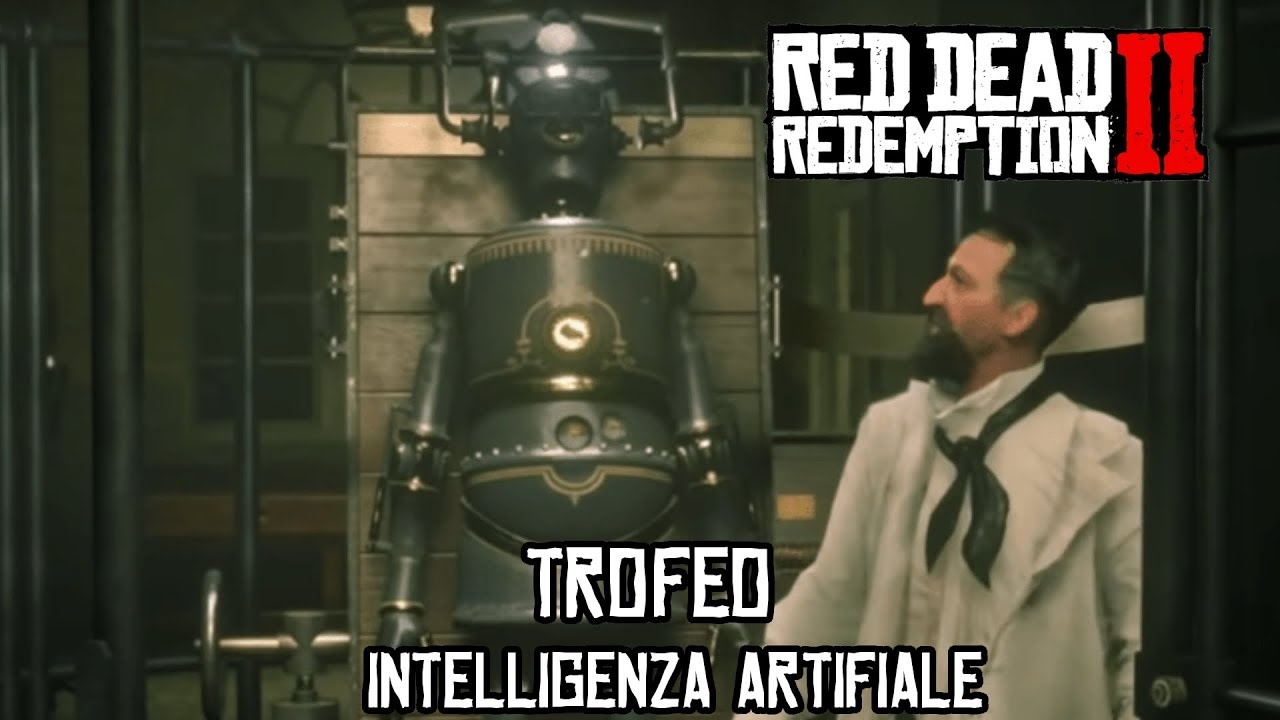 "TROFEO "" INTELLIGENZA ARTIFICIALE "" -  DOVE TROVARE MARKO DRAGIC - RED DEAD REDEMPTION 2"