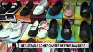 01/12/2015-18:48 REGISTRAN A COMERCIANTES DE FERIA NAVIDEÑA