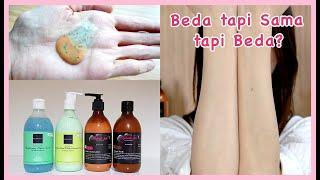 No joke, it's proved and real! aku sudah melakukan test terhadap kedua brand produk body lotion dan scrub yang lagi hits ini .. di video ak...