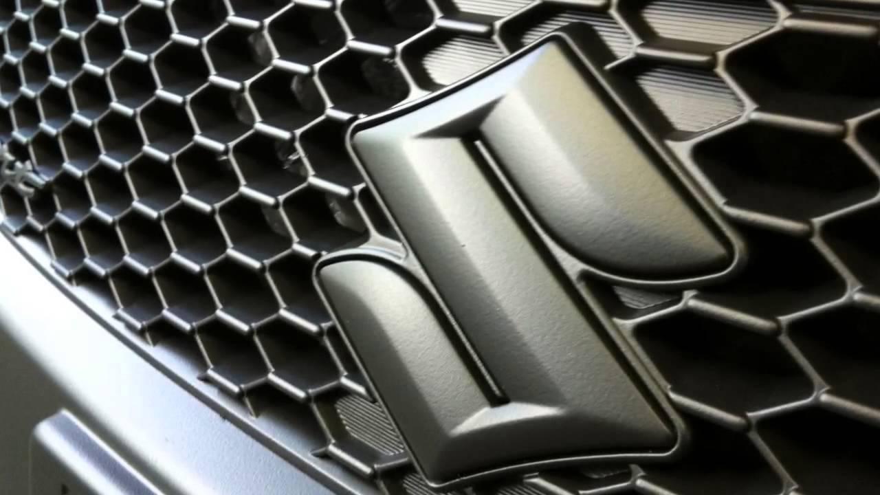 Suzuki Swift Motorhaube Spoiler Und Grill In Schwarz Matt