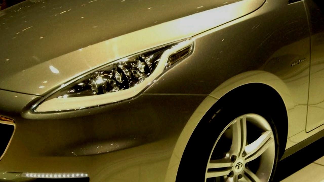 Tata Prima Sedan Upcoming Tata Luxury Car Youtube