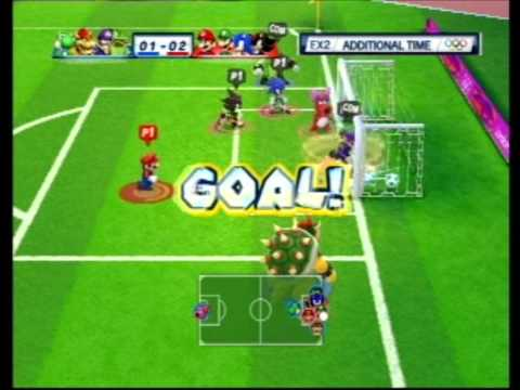 Mario and Sonic at the London 2012 Olympic Games: Football