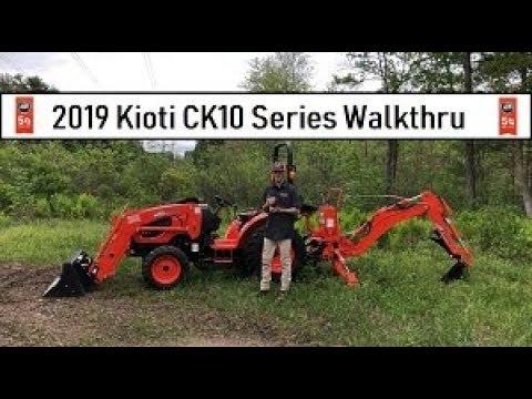 2019 Kioti Tractor CK10 Series Overview - CK2610, CK3510, CK4010 - Loader Backhoe