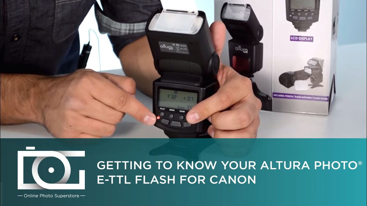 Tutorial How To Use The E Ttl Flash For Canon Cameras Ap C1001