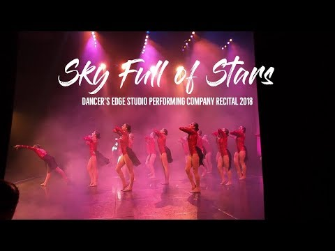 "Dancer's Edge Studio - Behind the Curtain ""Sky Full of Stars"" 2018 Performing Company Recital"