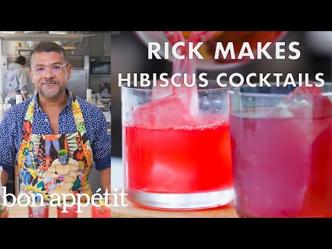 Rick Makes a Hibiscus Cocktail | From the Test Kitchen | Bon Appétit