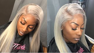 GREY Lace Frontal Sew in Start to Finish (HairIncKansasCity.com)