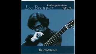 Leo Brouwer - La Obra Guitarristica Vol 3 (Cuban Guitar)