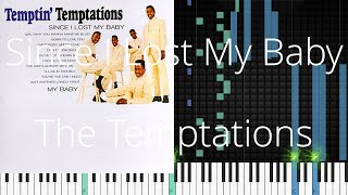 🎹 Since I Lost My Baby, The Temptations, Synthesia Piano Tutorial