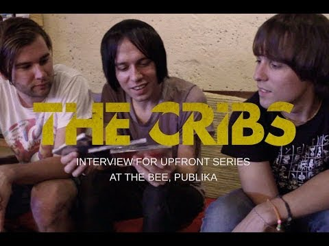 The Cribs | Interview (for the Upfront series at The Bee, KL) - YouTube