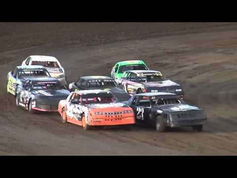 IMCA Stock Car Heat 1 Independence Motor Speedway 8/24/19